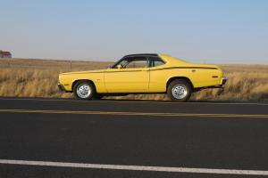 1974 Plymouth Duster 318 4BBL - with FACTORY SLIDING STEEL SUNROOF - Oh so RARE!