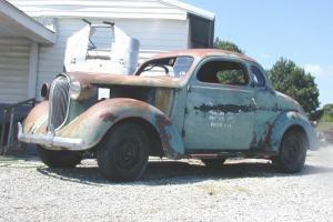 38 Plymouth 3 passenger Business Coupe P5 street rod rat original Chrysler Dodge