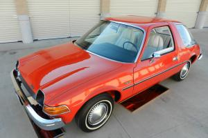 1975 AMC PACER NATIONAL CONCOURS WINNER PEBBLE BEACH QUALITY BEAUTIFUL CAR!!!!