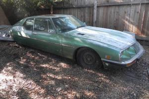 1972 Citroen SM Package TWO cars plus extra 5-speed trans package Photo