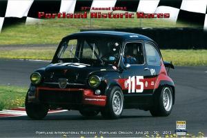 1967 Fiat Abarth 1000 TC Vintage Race Car.
