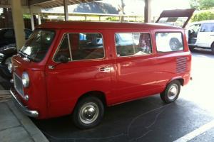 1969 FIAT 850 FAMILIARE. Seven seat minibus. Very rare! Super clean.