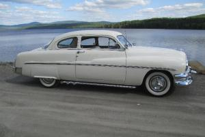 1951 mercury 2 door lite custom