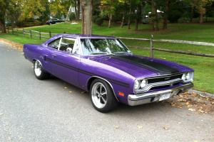 1970 GTX, Plum Crazy Purple, numbers matching engine, resto-mod
