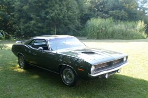 1970 Cuda, 2nd owner, Rotessire Restoration, All original, Numbers matching