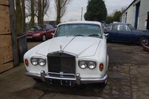 1974 ROLLS ROYCE WHITE ideal wedding car