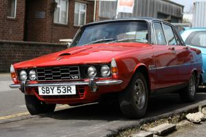 1977 ROVER 3500S RED