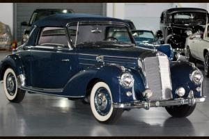 1955 MERCEDES BENZ 220A COUPE CONVERTIBLE EXTREMELY RARE RESTORED NUT AND BOLT