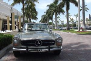 1969 280 SL PAGODA. EXCELLENT CONDITION.TWO TOPS. NEW PAINT, CARPETS AND WOOD!!!