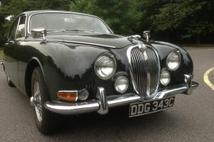 1965 JAGUAR S TYPE GREEN FABULOUS ORIGINAL CONDITION 3.8 MOD