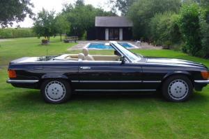 1983 MERCEDES 500 SL AUTO BLACK