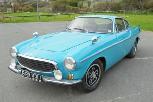 VOLVO P1800E COUPE - 1971 STUNNING RARE TURQUOISE/TEAL COLOUR  Photo