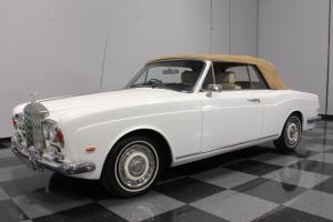 1970 Rolls-Royce Corniche, Right Hand Drive, Wilton wool carpets, Pearl White