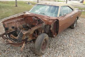 Original Hemi 4 Speed 1969 Dodge Charger RT