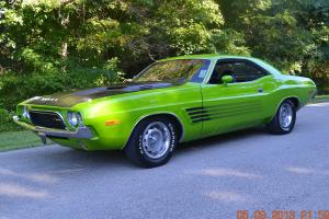 1973 CHALLENGER RALLYE 4SPD 340 NUMBER MATCHING SUPER SOLID AND SUPER NICE CAR