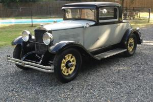 1929 Nash Special Six 3 window coupe