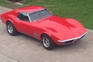 1969 Chevrolet Corvette Stingray Coupe RED 350 Manual in in Western District, VIC