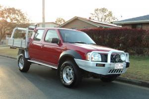 Nissan Navara 2004 3 0LITRE Turbo Diesel 5SPD Dual CAB UTE in in Brisbane, QLD  Photo