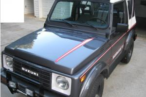 1987 SUZUKI SAMURAI SPECIAL EDITION 4X4 RARE AND VERY FEW MADE