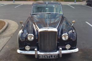 Bentley Saloon1 1958, Blue-Grey
