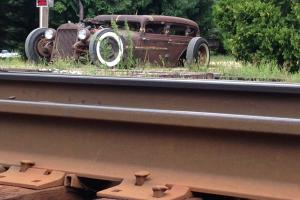 1933 Dodge 4 door sedan Rat Rod Chopped, sectioned and channeled with Turbo