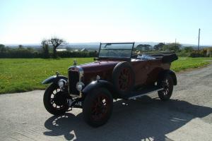 Clyno Royal Tourer 1926, fully restored