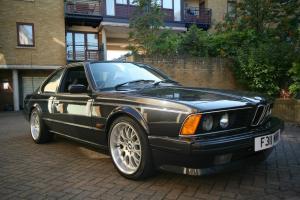 1988 BMW M635 CSI BLACK HIGHLINE