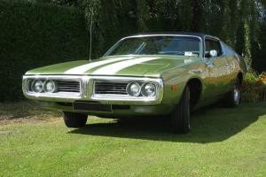 1972 DODGE CHARGER (FOUR SPEED HURST MANUAL)