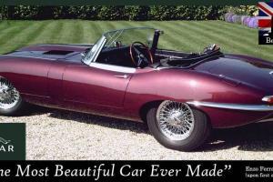 Beautiful Show Winning E-Type Jaguar, 1964, Series One, Roadster  Photo