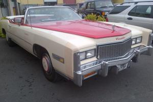 1976 Cadillac Eldorado Convertible 8200cc Petrol