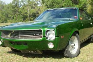1969 AMC AMX 401/AUTOMATIC/ STREET LEGAL RACE DRAG CAR/AIR COND/CLEAR TITLE/