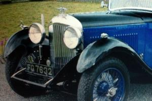 Bentley 4 Litre Saloon 1931 Vintage Bentley Thrupp