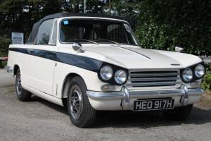 1969 TRIUMPH VITESSE Mkll CABRIOLET WHITE