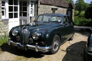 Jaguar MK II 3.8 saloon 4 door