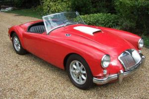 MGA Roadster exciting LHD hot-rod project with Ford 5.0 V8 and 4 speed manual