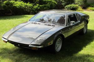 1971 De Tomaso Pantera  5 speed  V8 mid engine Photo
