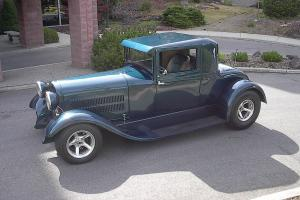 1929 Hudson Three Window Street Rod Photo