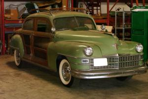 1947 CHRYSLER TOWN AND COUNTRY WOODY SEDAN