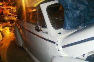Rare 1946 Mercury Conv. White Coated With a Rare Continental bumper wheel kit Photo