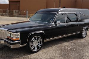 ONE of a kind custom HEARSE limousine....MUST SEE