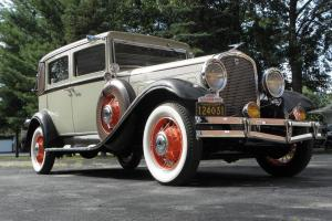 1931 HUDSON GREATER 8 DELUXE BROUGHAM   NICE OLDER RESTORATION * RUNS GREAT *
