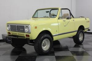 VERY SOLID INTERNATIONAL SCOUT, ORIGINAL 345CI MOTOR, READY TO GO!