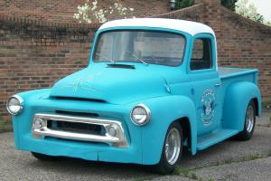 1957 INTERNATIONAL HARVESTER, RAT ROD, PICK UP