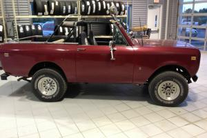 1977 International Scout II Terra Standard Cab Pickup 2-Door 5.0L