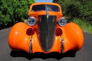 1937 Nash Lafayette 400 Hotrod, Leather, Air, Bluetooth, 350/700R4