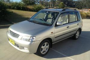 Mazda 121 Metro Platinum Edition 2001 AUTOMATIC129 000km 1OWNER Service Books in Moreton, QLD