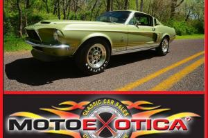 1968 SHELBY GT500-UNRESTORED SURVIVOR!!- 86,000 ORIGINAL MILES!- NO RESERVE !!!! Photo