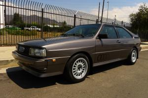 1985 Audi Ur Quattro Photo