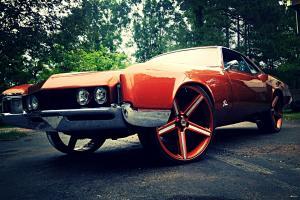"1966 Buick Riviera Custom Paint 26"" Iroc Wheels 425 Nailhead Donk Old School"