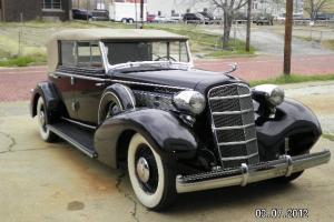 1935 Cadillac 355D 4 Door Convertible Sedan